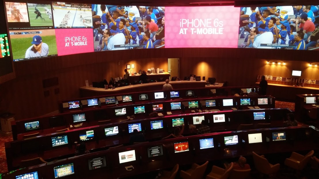 CG Technology sports book at Tropicana