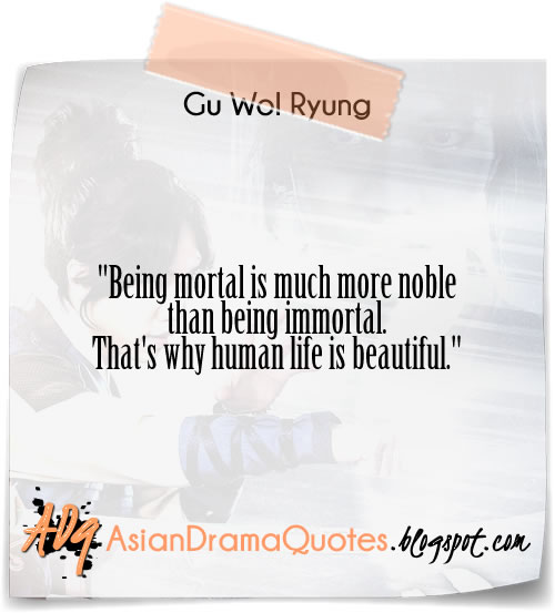 Quotes from Korean drama Gu Family Book  2013 Asian Quotes