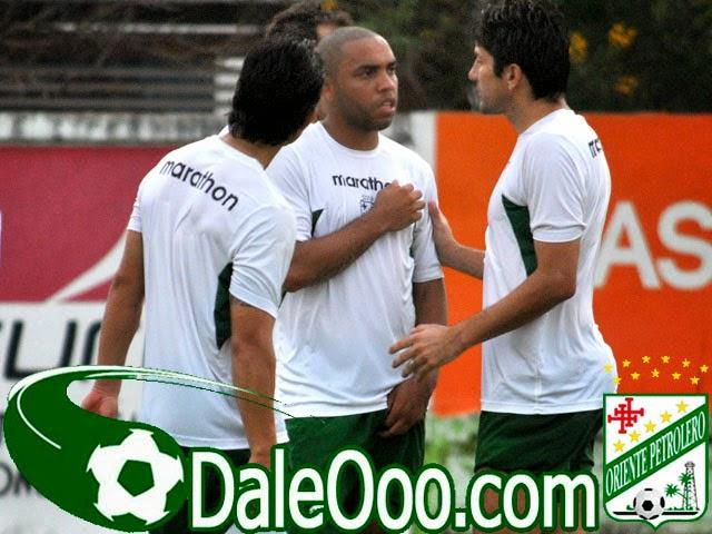Oriente Petrolero - Marvin Bejarano - Thiago Dos Santos - Ronald Raldes - DaleOoo.com sitio del Club Oriente Petrolero