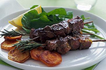 Lamb kebabs recipe - How to make lamb kebabs