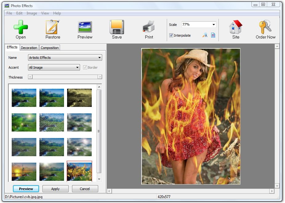 Ams Software Photo Effects V3 15 Games For All