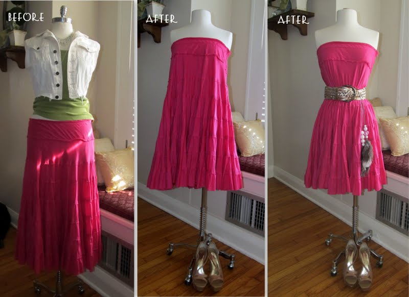 Repurpose tanks skirts t shirts the refab diaries - Diy ideas repurposing old clothing ...