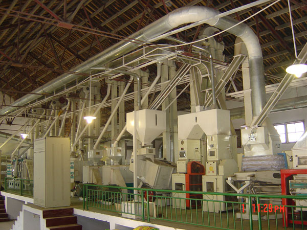 Auto Rice Mill Machines