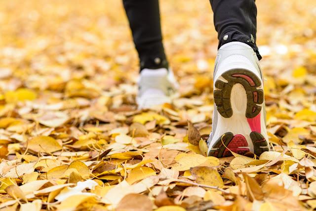 El Retiro correr en otoño