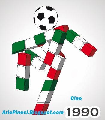 Ciao Maskot Piala Dunia 1990 Italia