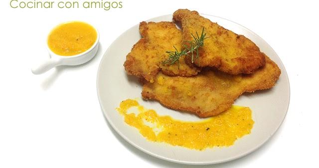 Filete de pollo en salsa de zanahoria cocinar con amigos for Como cocinar filetes de pollo