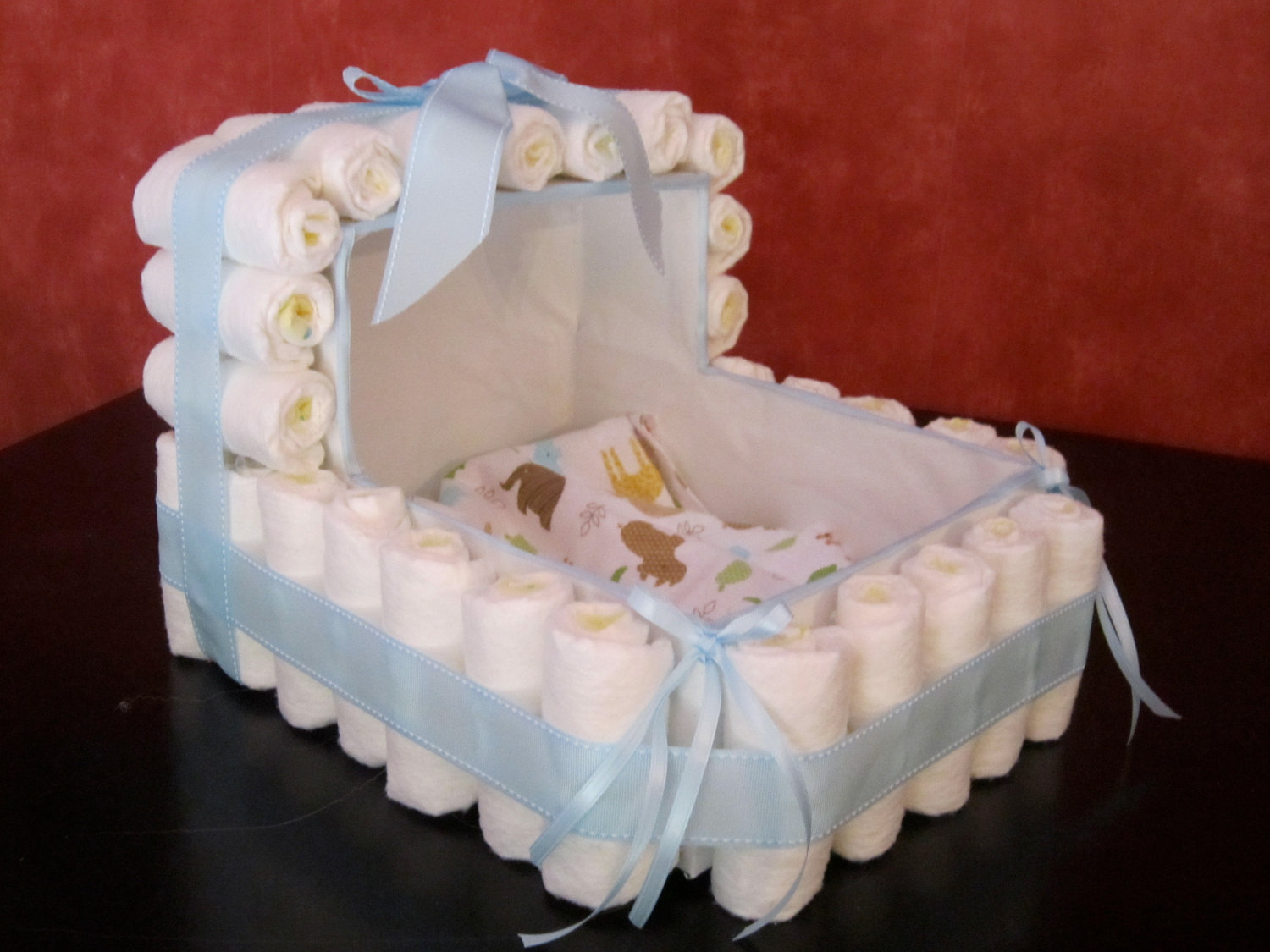 How To Make A Stroller Nappy Cake