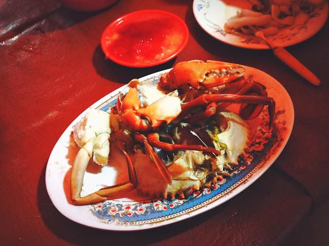 Yogyakarta Kepiting Rebus (Steamed Crab)