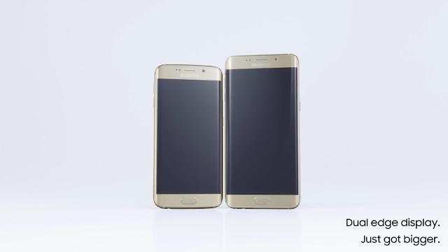 Ponsel terbaru Samsung Galaxy S6 EDGE+,smart phone