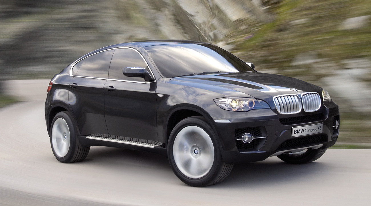 Wallpapers BMW X6 Concept
