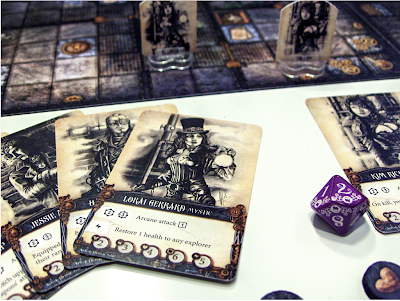 Board game news Essen Speil 2013machina arcana