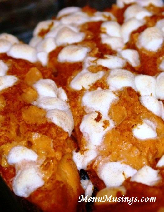 Menu Musings of a Modern American Mom: Twice Baked Sweet Potatoes