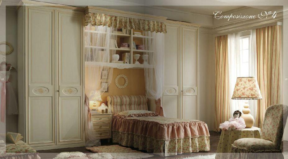 Camerette stile barocco centro camerette barbato - Camerette stile barocco ...