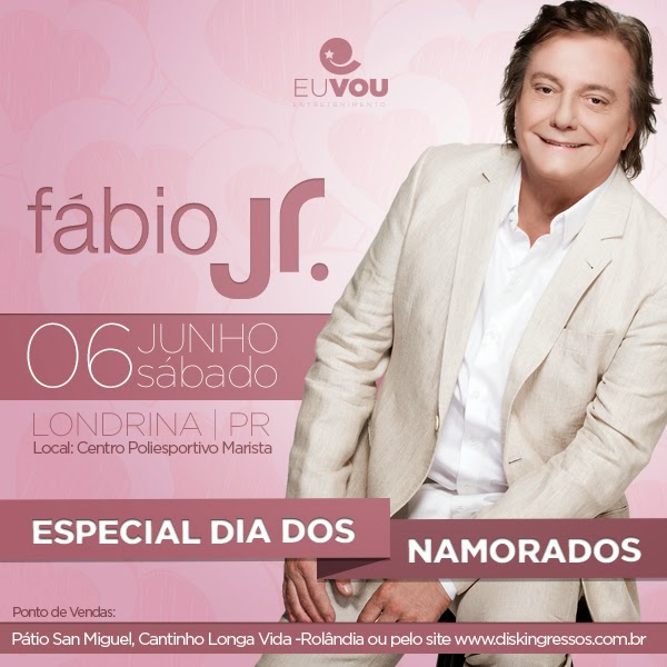 Fábio Jr. em Londrina
