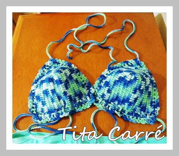 Bikini Jaspe em crochet