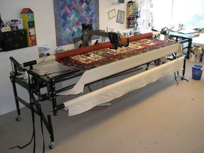 home arm quilting machine