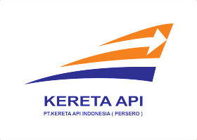 Kereta Api Logo Vector download free