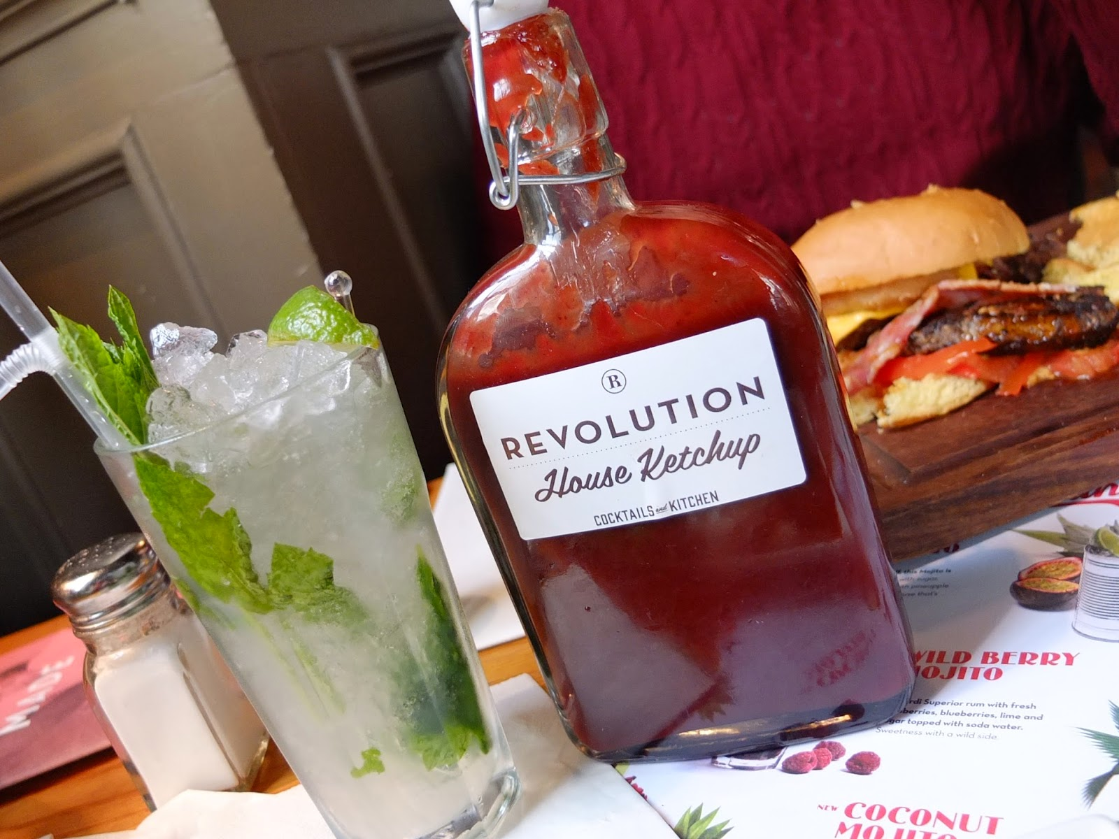 Food blog review of Revolution Cocktail bar Manchester Oxford Road
