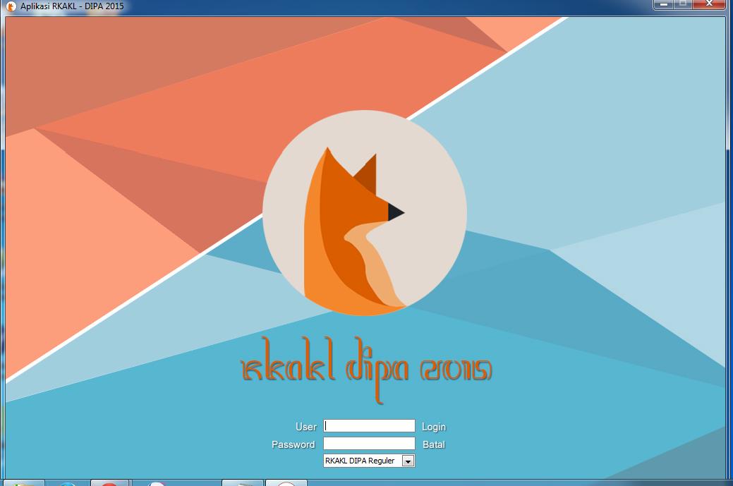 Update Aplikasi RKA-KL 2015