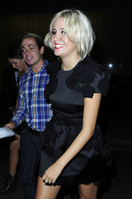 Pixie Lott Short Black Dresses & Skirts Style