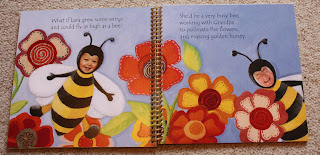 personalised story book bumblebee