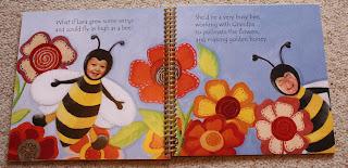 personalised story book bumblebee