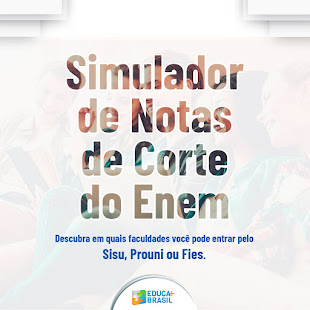 SIMULADOR DE NOTAS DE CORTE DO ENEM