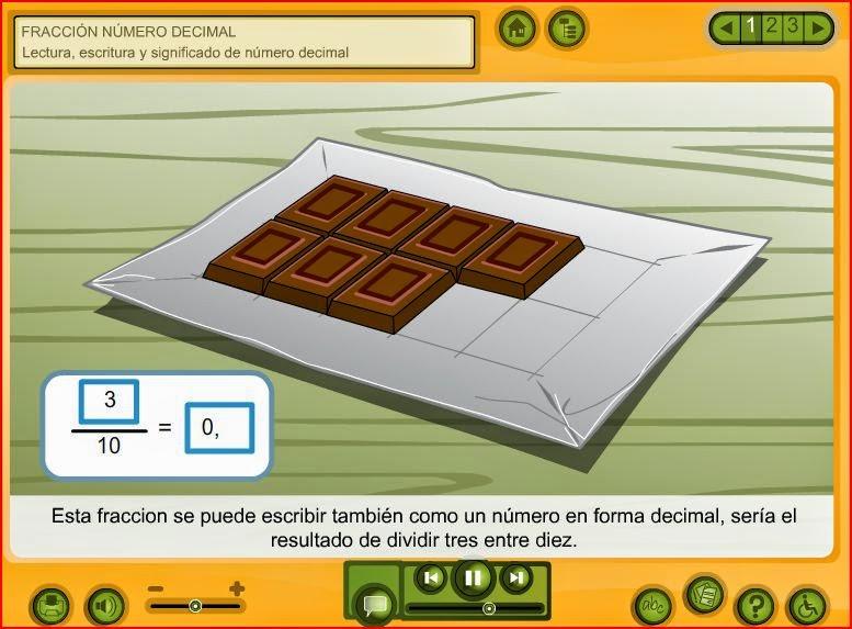 http://www.juntadeandalucia.es/averroes/carambolo/WEB%20JCLIC2/Agrega/Matematicas/Fraccion_y_numero_decimal-CONTENIDOS/contenido/mt10_oa04_es/index.html
