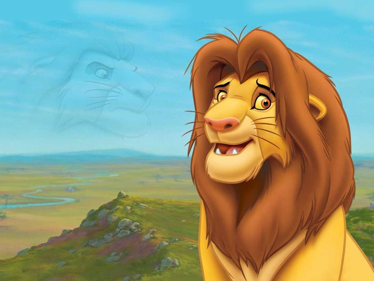 Cartoon Characters Lion King : Cartoon characters and animated movies simba