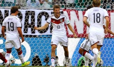 Jerman vs Ghana