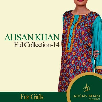 Ahsan Khan Kurti Fashion for EID