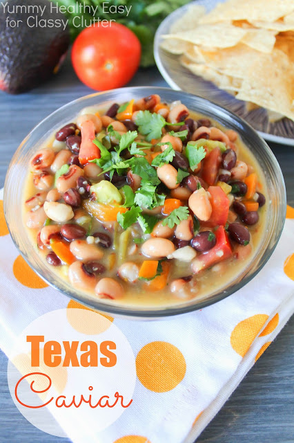 Simple and delicious Texas Caviar - Classy Clutter