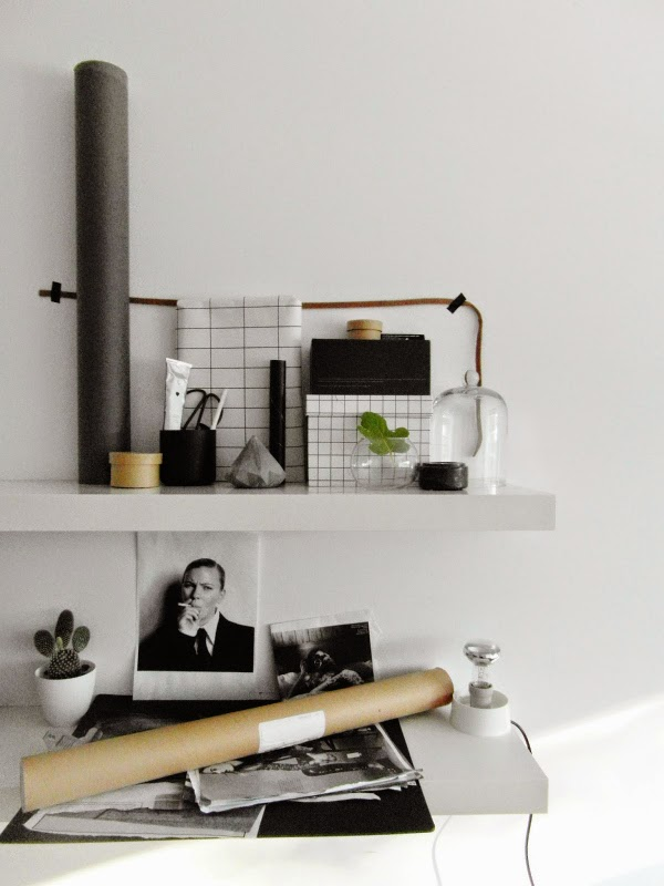"""grid trend black and white interiors"""