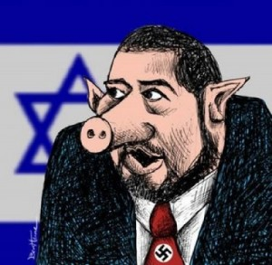Image result for Nazi Avigdor Lieberman CARTOON