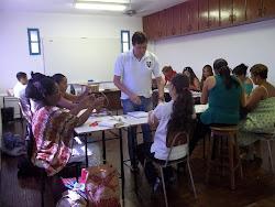 """Curso """"Estruturas Lineares para Objetos de Arte"""",  com  Prof. Fábio Sande"""