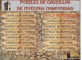 PUZZLES DE CASTILLOS