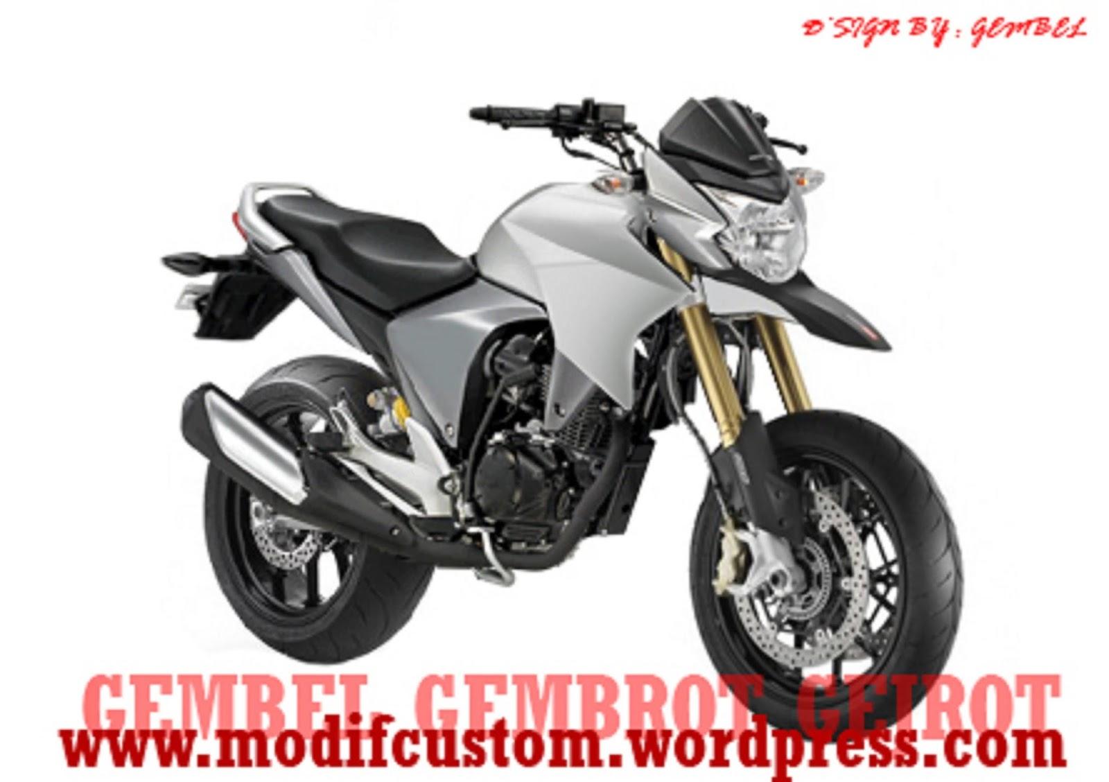 Foto modifikasi honda new megapro for South motors honda us1