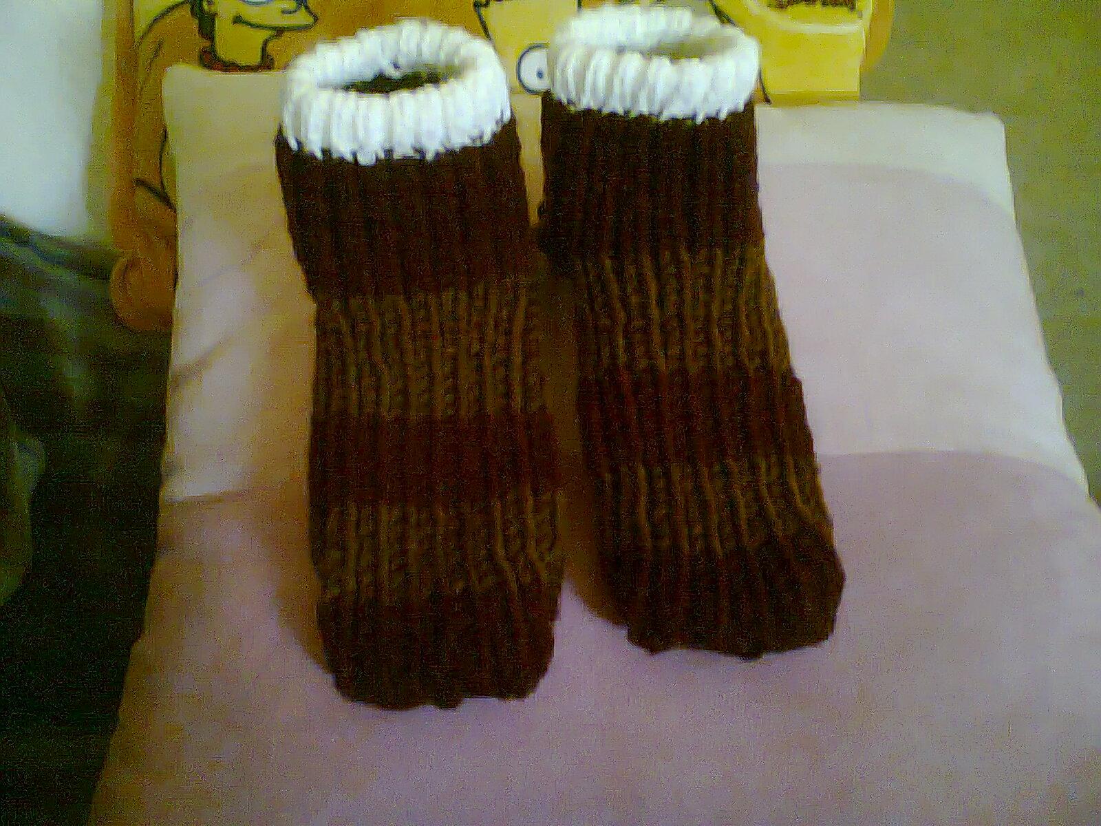 Es lo que hay mis cosas y yo calcetines m s f ciles - Como hacer calcetines de lana ...