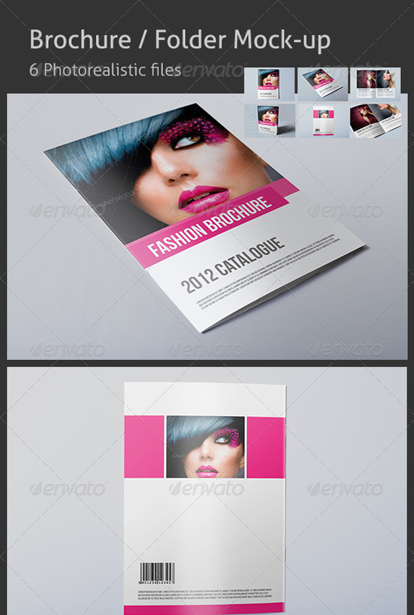 Template Free And Premium Awesome Business Brochures - Fashion brochure templates