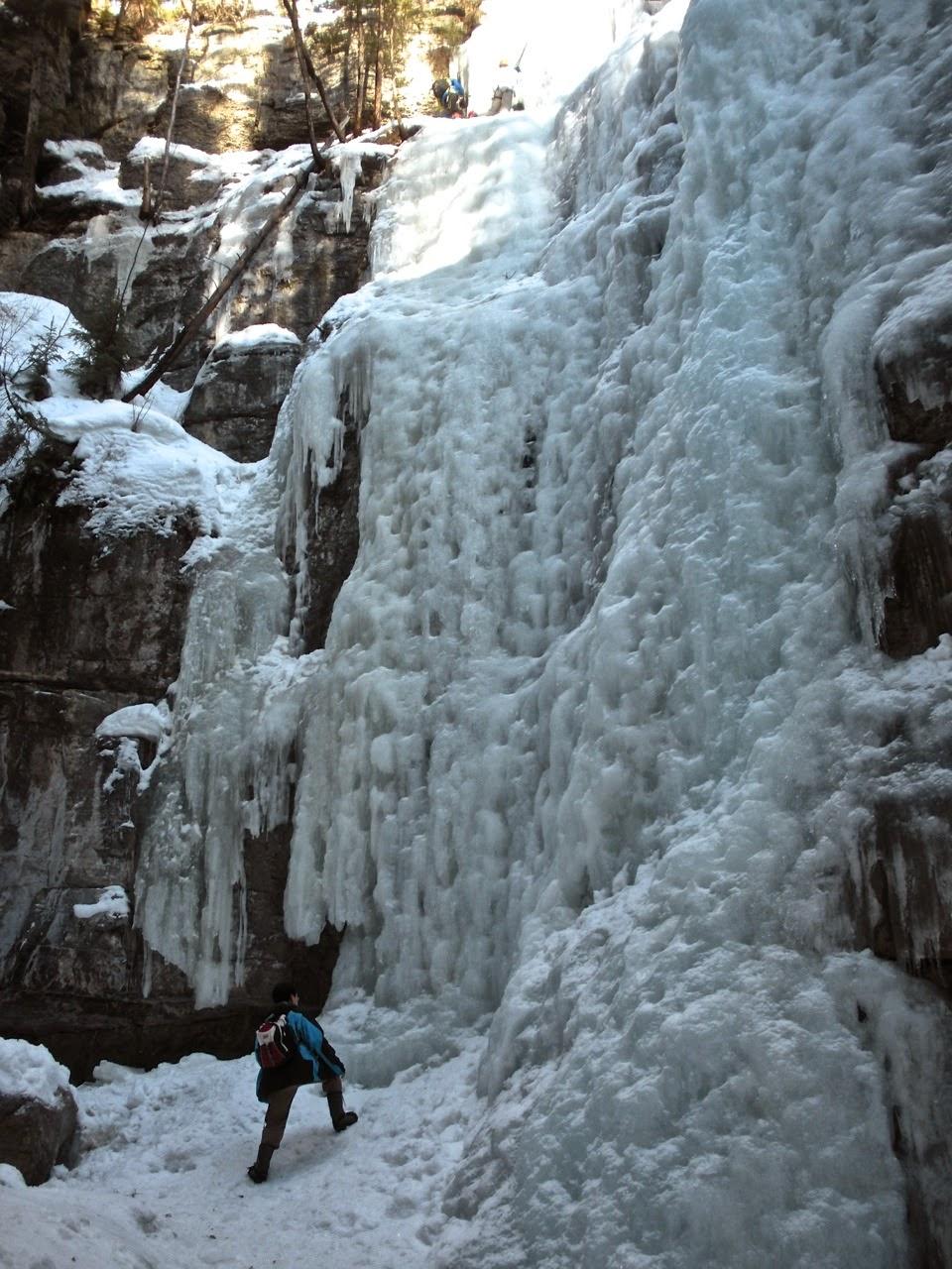maligne canyon winter