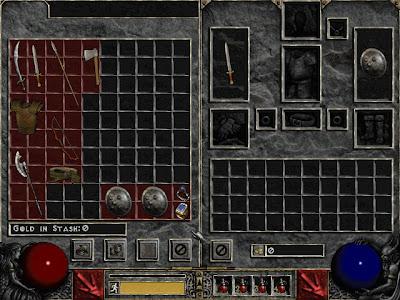 Tienda de Jugada Arriesgada Diablo II