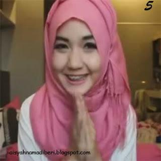 Cara Memakai Jilbab Kreasi Jilbab Pashmina Segiempat Arabian Style