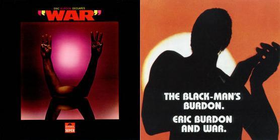 ERIC BURDON declares WAR & THE BLACK MAN'S BURDON (1970)