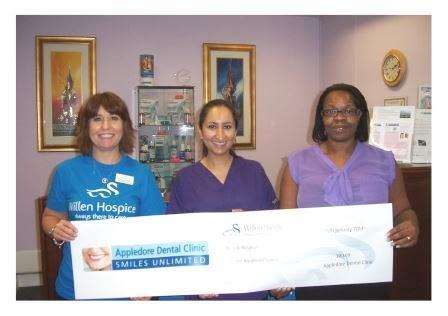 milton keynes dentist donates to willen
