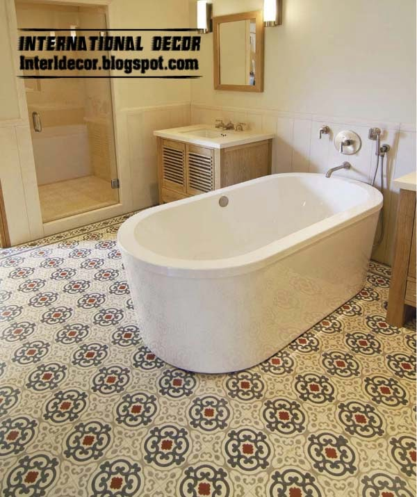 Bathroom Floor Tile Patterns Floor Tiles
