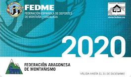 TARJETA FEDERATIVA 2020