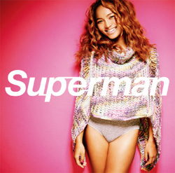 Crystal Kay - Superman [CD + DVD] | Single art
