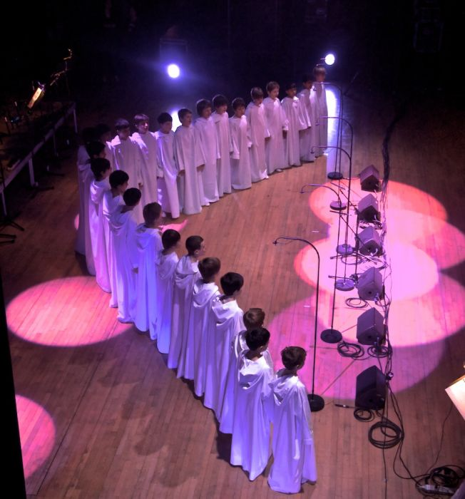 Libera boys in the concert