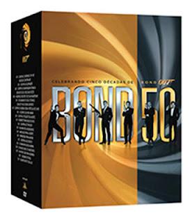 Box James Bond 50 Anos