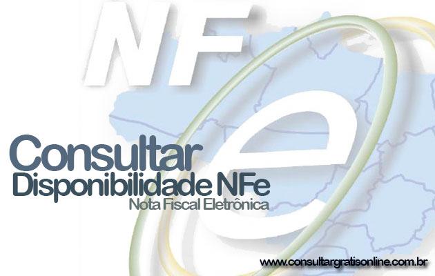 CONSULTAR DISPONIBILIDADE NFE
